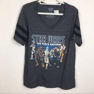 Star Wars Torrid Short Sleeve Graphic Top